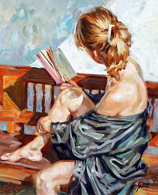 Четящо момиче
