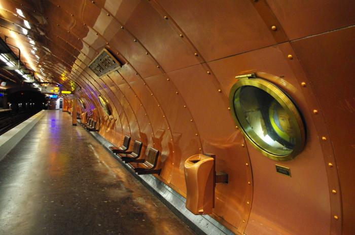 Париж - Станция - Искусства и ремесла 2