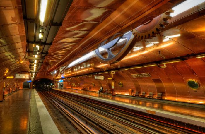 Париж - Станция - Искусства и ремесла.