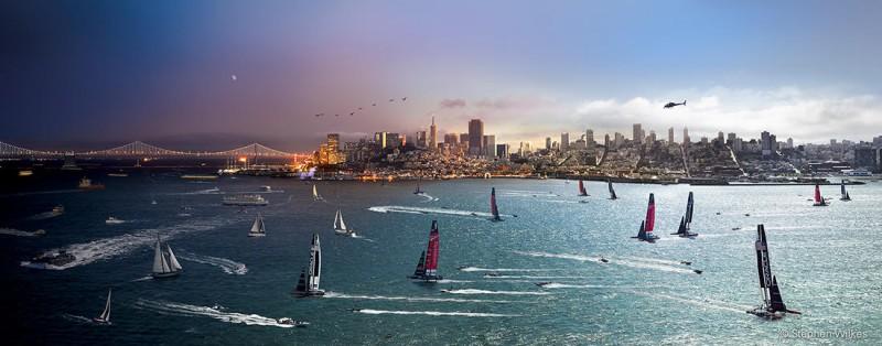 Регата «Кубок Америки», Сан-Франциско, 2013 год