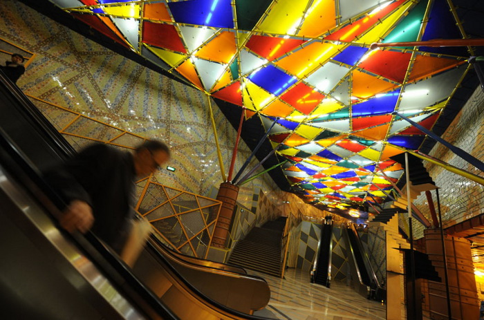 Станция метро, Лиссабон. 2