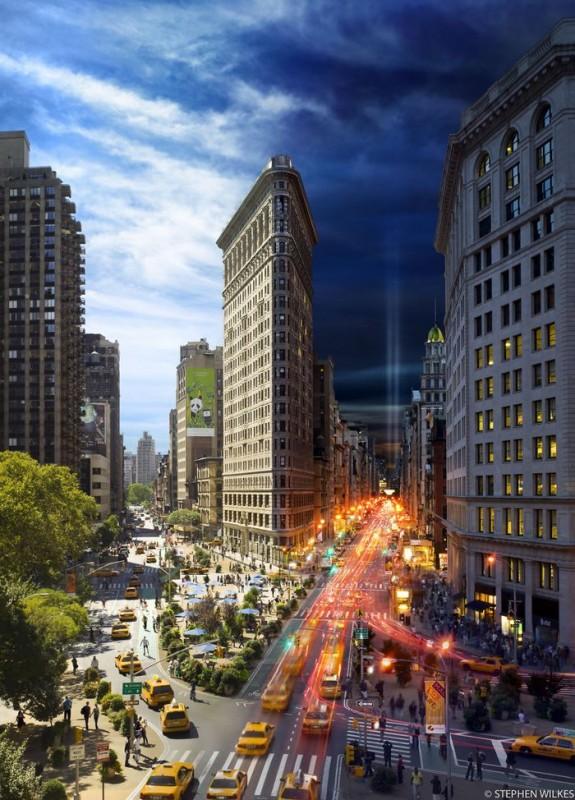 Флэтайрон-билдинг, Нью-Йорк