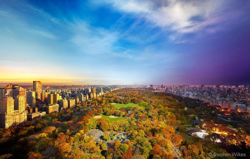 Центральный парк, Нью-Йорк, 2014 год