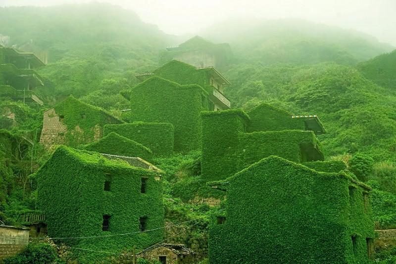 #10 Abandoned Fishing Village In Shengsi, China