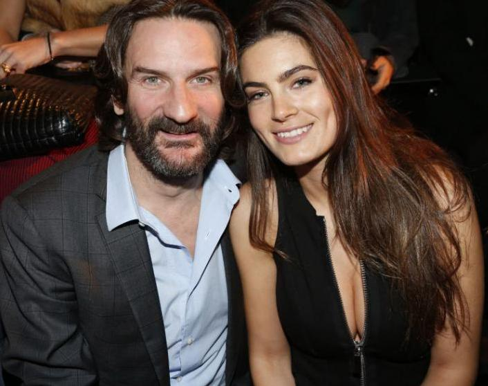 11 - Фредерик Бегбедер со своей женой
