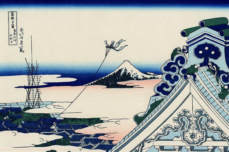11.Храмът Асакуши Хонганджи в Едо