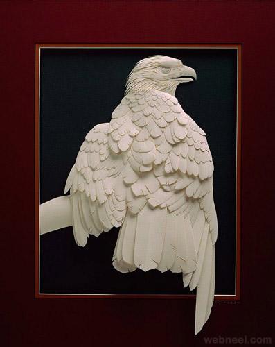 17-eagle-paper-sculpture