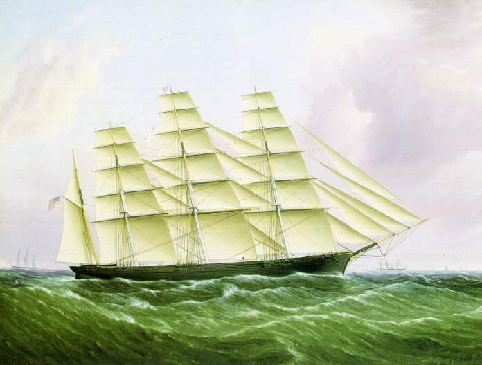 1_GreatRepublic_ca1853_byButtersworth_PEM_sailing