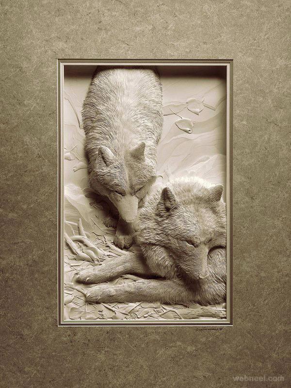 2-paper-sculpture-animal