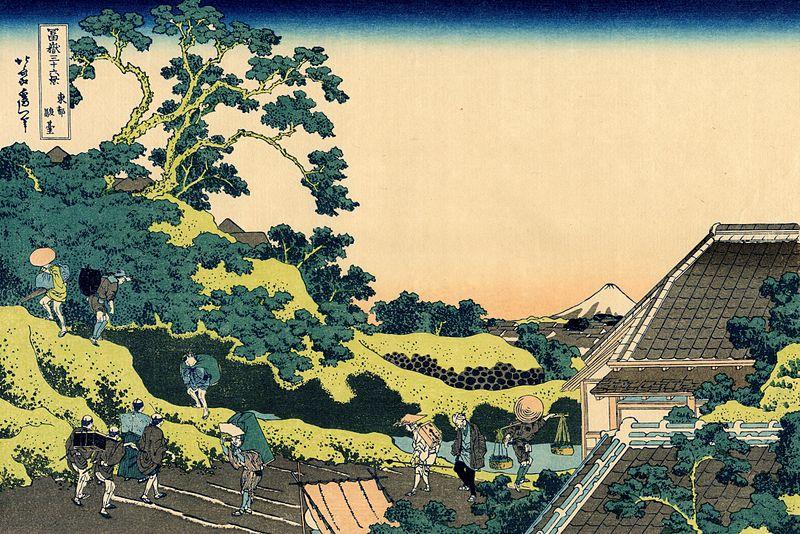 5.Районът Сундай в Едо