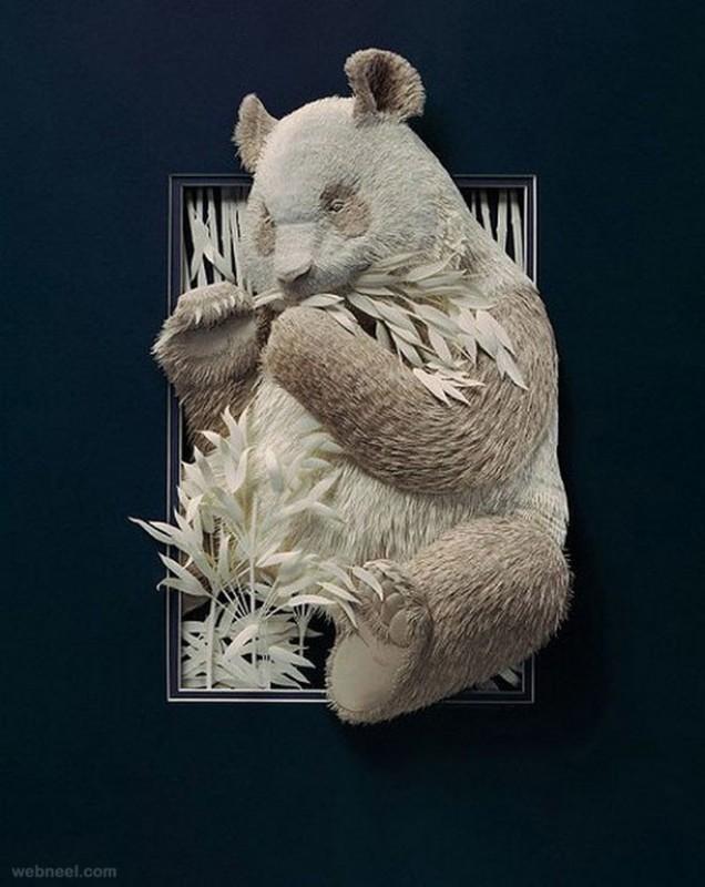 6-paper-sculpture-bear
