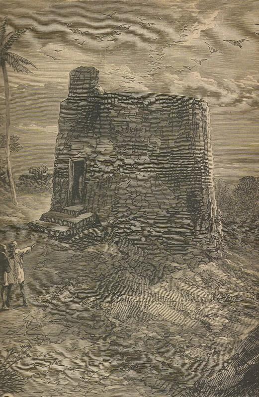 Гравира на Дахма в Момбай, от началото на XIX в.