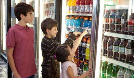 Children who consume energy drinks