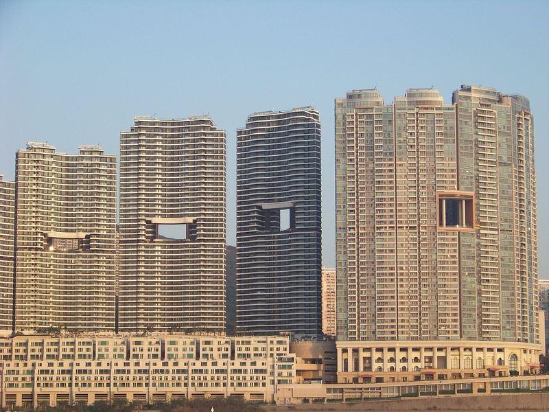 Небостъргачите в Хонконг