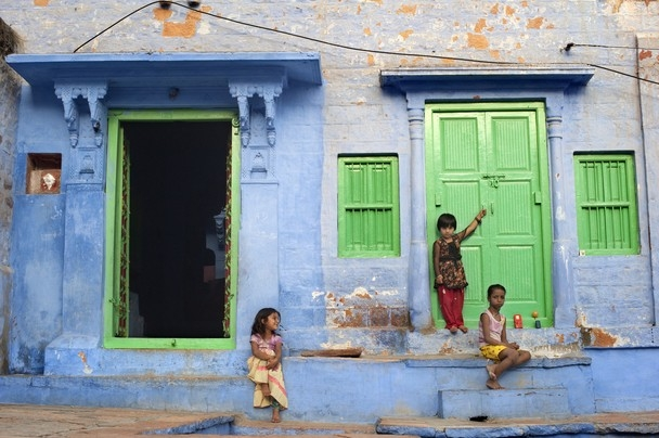 Jodhpur, the Blue City in Rajastan, © Georgios Giannopoulos