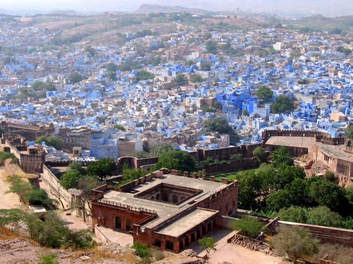Jodhpur, the Blue City in Rajastan