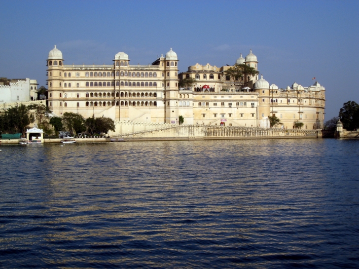 Lake Palace Hotel in Udaipur, India