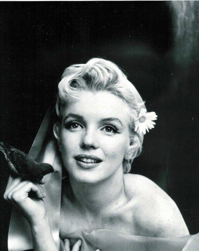 Marilyn Monroe, photography by Cecil Beaton