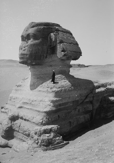 Photos of Ancient Egyptian Monuments More Than 100 Years Ago (1)