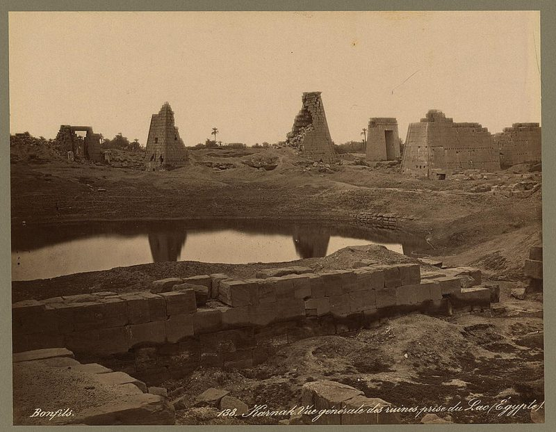 Photos of Ancient Egyptian Monuments More Than 100 Years Ago (14)