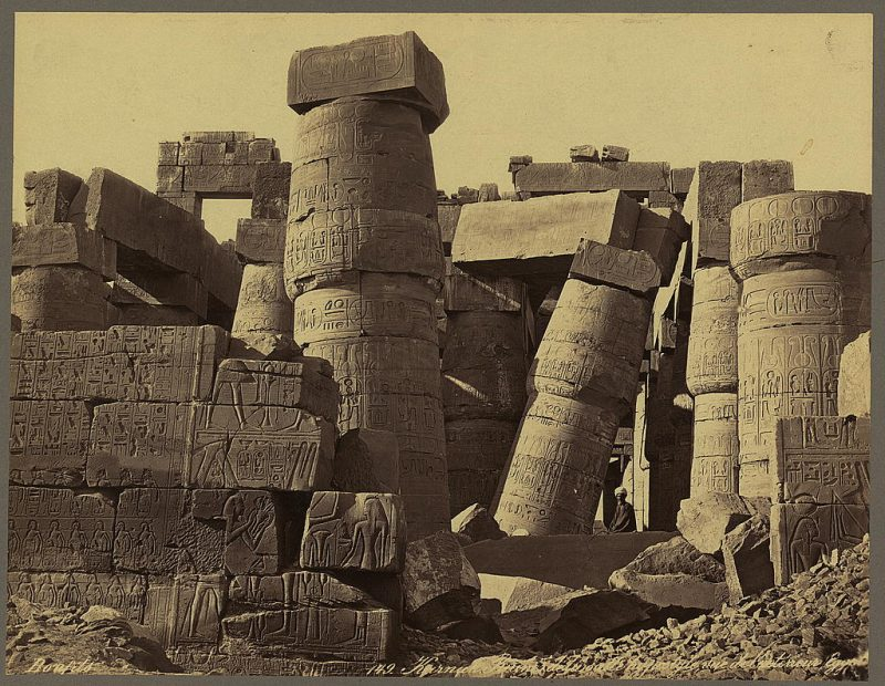 Photos of Ancient Egyptian Monuments More Than 100 Years Ago (16)