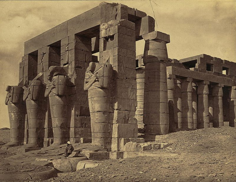Photos of Ancient Egyptian Monuments More Than 100 Years Ago (20)