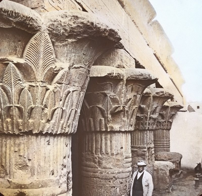 Photos of Ancient Egyptian Monuments More Than 100 Years Ago (21)
