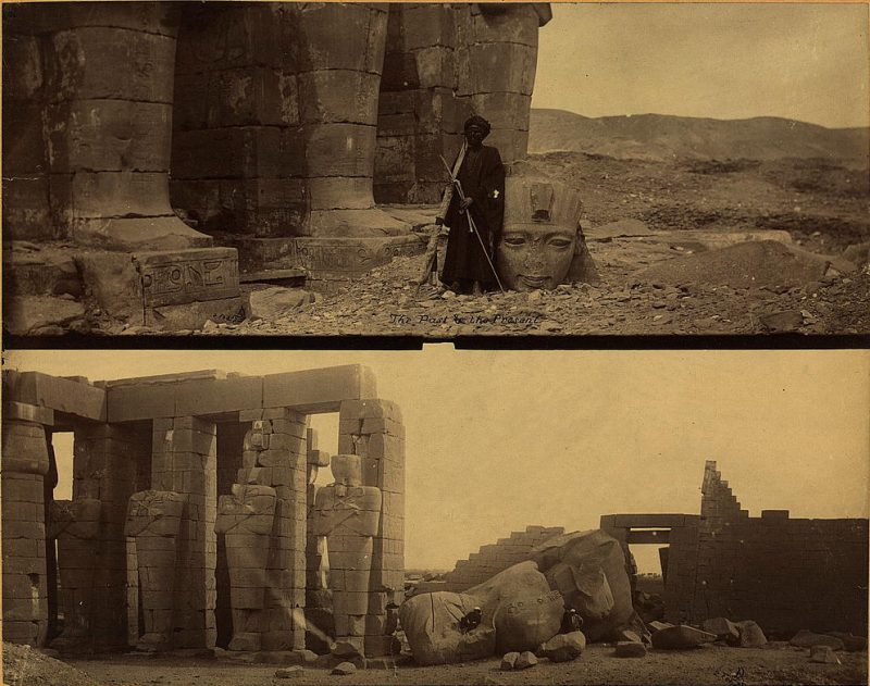 Photos of Ancient Egyptian Monuments More Than 100 Years Ago (22)