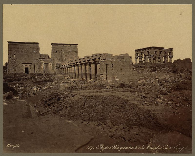 Photos of Ancient Egyptian Monuments More Than 100 Years Ago (25)