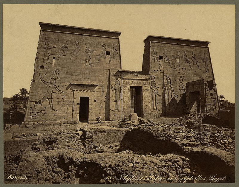 Photos of Ancient Egyptian Monuments More Than 100 Years Ago (26)