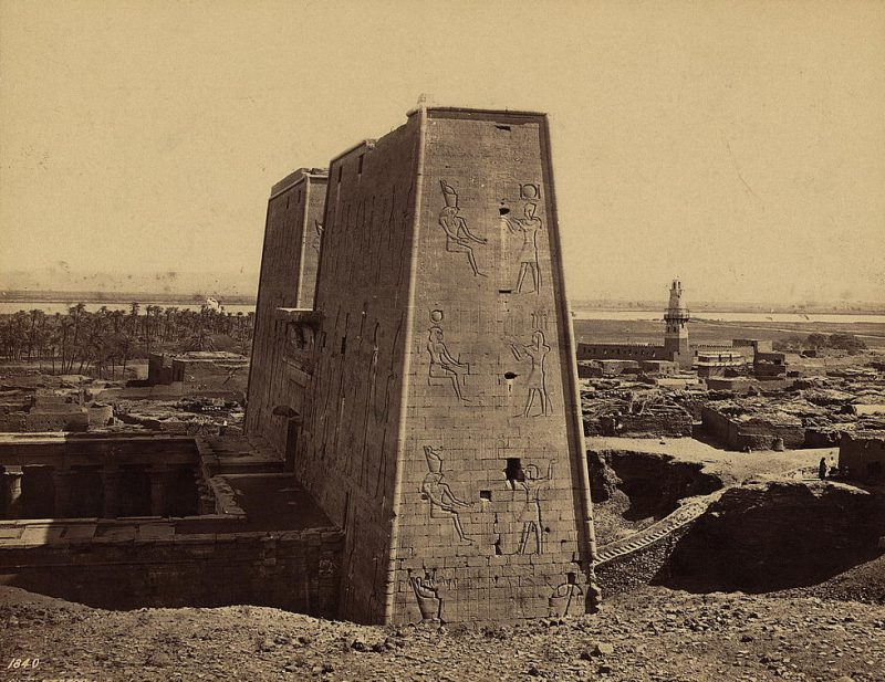 Photos of Ancient Egyptian Monuments More Than 100 Years Ago (28)