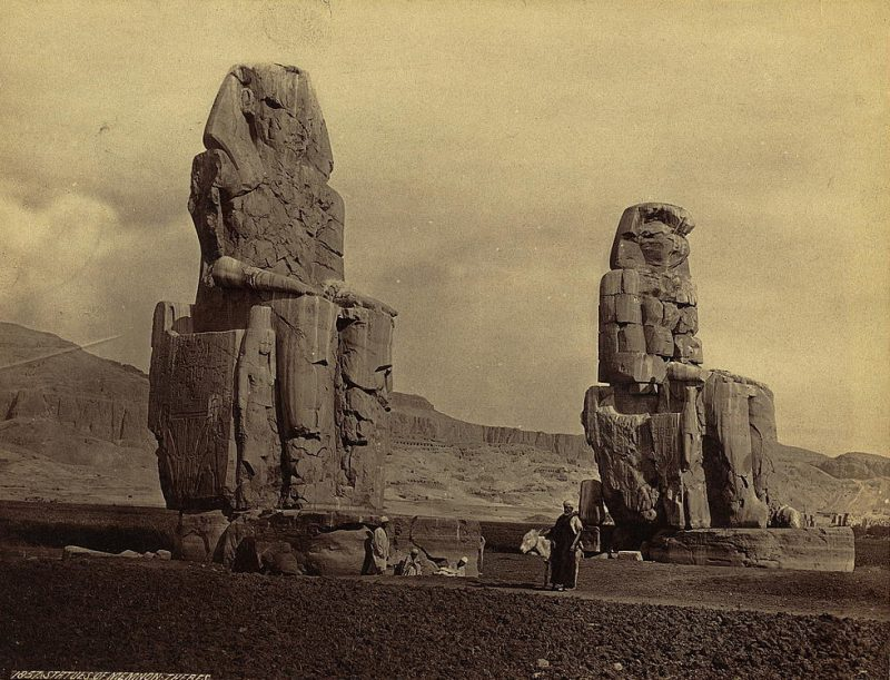 Photos of Ancient Egyptian Monuments More Than 100 Years Ago (30)