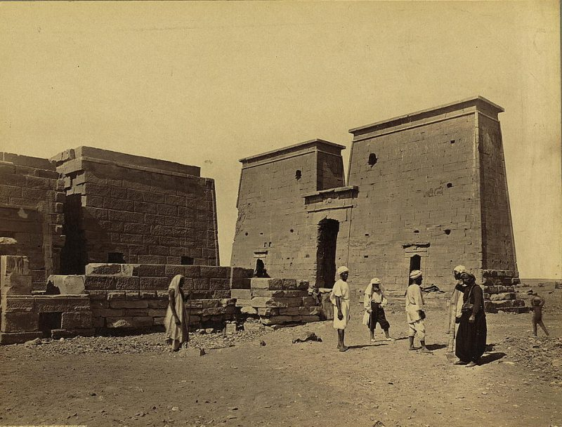 Photos of Ancient Egyptian Monuments More Than 100 Years Ago (31)