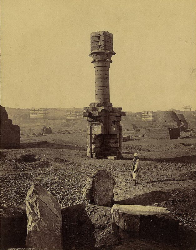 Photos of Ancient Egyptian Monuments More Than 100 Years Ago (32)