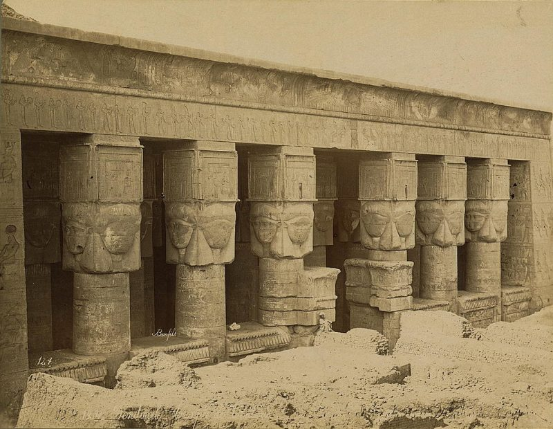Photos of Ancient Egyptian Monuments More Than 100 Years Ago (34)
