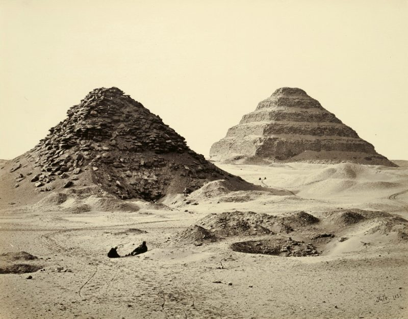 Photos of Ancient Egyptian Monuments More Than 100 Years Ago (35)