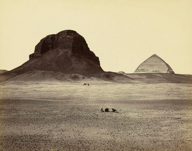 Photos of Ancient Egyptian Monuments More Than 100 Years Ago (36)