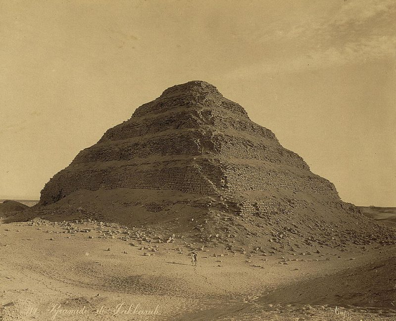 Photos of Ancient Egyptian Monuments More Than 100 Years Ago (7)