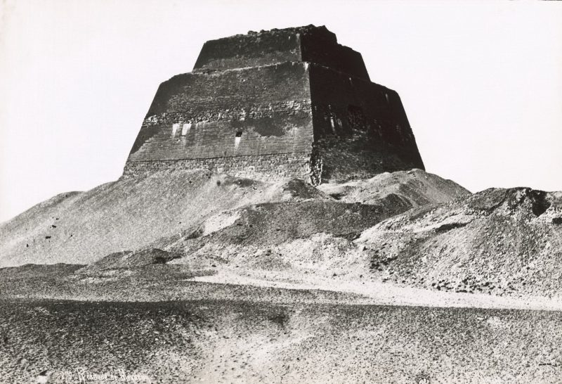 Photos of Ancient Egyptian Monuments More Than 100 Years Ago (9)