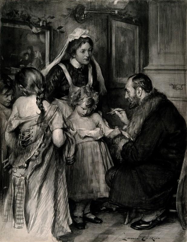 The first immunization