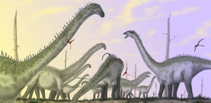 huge dinosaurs